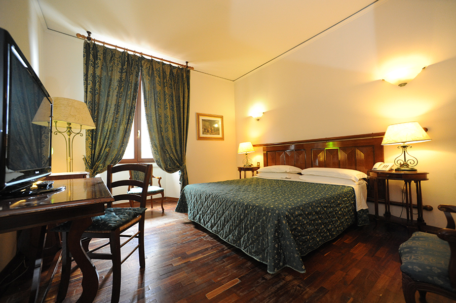 A room at the Hotel Le Due Fontane, Florence