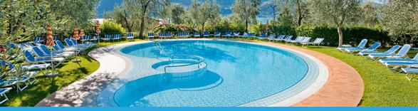 Piscina hotel ideal limone sul garda italia - Hotel lago garda piscina coperta ...