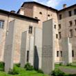 Monoliths in the Cortile delle stele