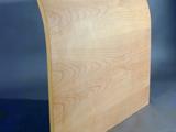 Testiera letto curva legno