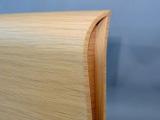 Testiera letto doppia curvatura parallela