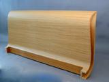 Testiera letto curva a s tamburata