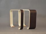 Cassetti curvi in legno<br /> Cassettiera curva in legno