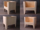Poltroncina in legno<br /> Poltrona di legno