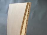 Testiera letto piena<br /> Testiera letto curva in legno