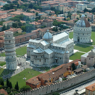duomo the leaning tower hotel la pace pisa. Black Bedroom Furniture Sets. Home Design Ideas